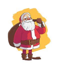 Santa! on Behance