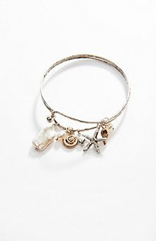sand & sea charm bracelet