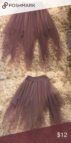 93b489d07c5 Witchy Purple Skirt A flowy lavender colored skirt Skirts Asymmetrical