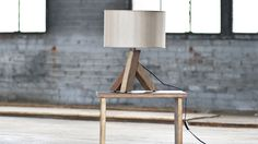 Plank Table Lamp by
