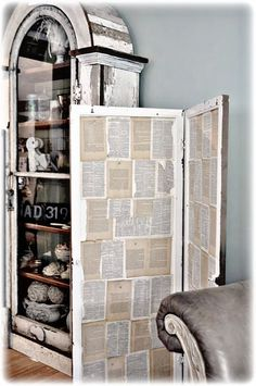 book page screen/room divider