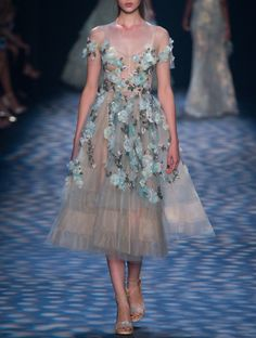 Marchesa Spring 2017.  New York Fashion Week.
