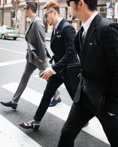 Three excellent suits.