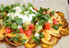Easy Potato Nachos