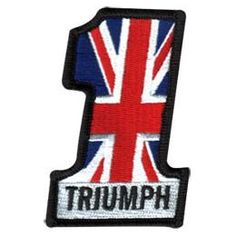 Lowbrow Customs / #1 Triumph Motorcycle Patch -
