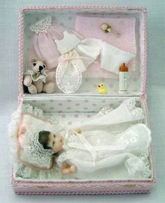 Baby doll in box set idea