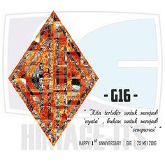Happy 1st Anniversary G16