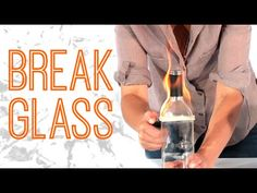 4 Badass Tricks To Break Glass - #2 would be good to know if stuck in a car, but ofc you would need to keep a broken spark plug in the car :D