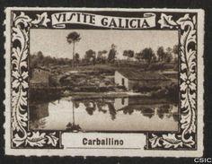 Carballino (Ourense) : [Viñeta con imagen de la ribera del río y edificaciones en su orilla en Carballino] / [fotógrafo, Luis Casado Fernández]. http://aleph.csic.es/F?func=find-c&ccl_term=SYS%3D001528768&local_base=MAD01
