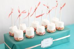 Fairy Party Dessert Table - wrap a box to use as a dessert stand = cheap decor :)