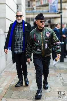 See the best men's street style looks captured at London Men's Collections A/W 2016