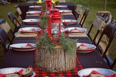 Jazzy Celebrations | Lumberjack themed party!