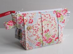 Cath Kidston Paisley Fabric Cosmetic Purse