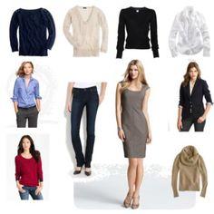 10 Piece Fall Wardrobe