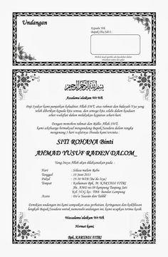 Contoh Undangan Tahlil H jjjj Microsoft Word 2010, Microsoft Excel, Microsoft Office, Word Office, The Words, Wedding Album Design, Joko, Print Layout, Word Doc