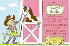 Cowgirls Horse Party