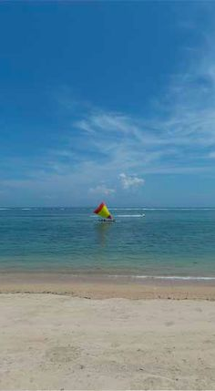 Windsurfing at Sunur beach. Bali Indonesia. Beyond Villas has a selection of holiday villas to suit every style & budget. http://www.beyondvillas.com
