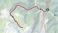 Leichte Wanderung vom Weichtalhaus durch eine tief eingeschnittene Felsschlucht, dem Großen Kesselgraben, zur ... Snow Mountain, Trench, Kettle
