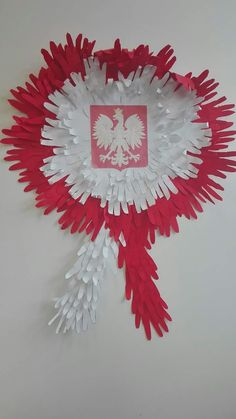 Diy And Crafts, Crafts For Kids, Arts And Crafts, Paper Crafts, 4th Of July Party, July 4th, Polish Recipes, Art Activities, Independence Day