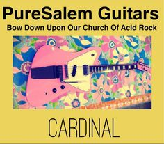 Please visit our website www.puresalemguitars.com and join our mailing list. Thank you for your support!