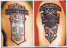Image detail for -Harley Davidson Biker Tattoo
