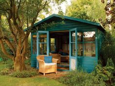 This Summerhouse would look really good in my back yard.