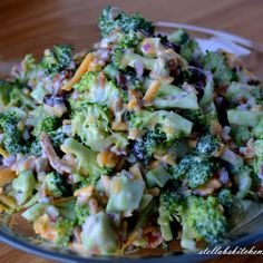 We love broccoli just about any way you can prepare it...except raw. Nobody in our family really cares for the texture or flavor {perhaps lack ...