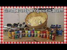 Grad Party Popcorn Bar~Ft  Kernal Seasons Popcorn Products~Budget Party ...
