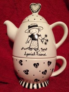Honesty Paul Cardew Design Signed Limited Edition Collectable Teapot Tea Shop Counter Pottery & China