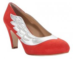Minna Parrika red shoes.