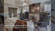Renovation of the Year Award - Saskatoon Bridges Awards 2017 - Fresco Interiors Design Group Safe Haven, Awards 2017, Bridges, Fresco, Your Design, Living Rooms, Kitchens, Bedrooms, Bedroom Decor