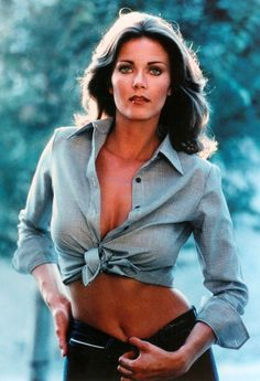 Former Miss World USA, Lynda Carter, tv's Wonder Woman who had both Irish & Mexican blood.