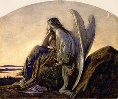 The Evening Angel [beautiful print]