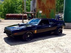 1973 Amc Javelin Amx Mad Max/road Warrior Interceptor Tribute Car - Used Amc Javelin for sale in Waynesville, North Carolina Mad Max Road, Rebel, 70s Muscle Cars, Dodge Daytona, Amc Javelin, American Motors, Old Classic Cars, Futuristic Cars, Hot Rides