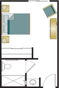 Shared Bathroom Layout Springfield Senior Apartment Floor Plans Bayberry Commons Assisted