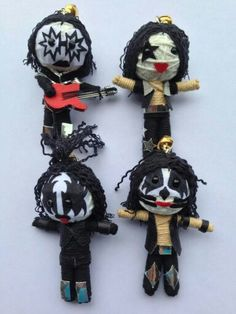how to make string voodoo dolls step by step