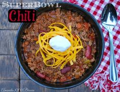 Superbowl Chili Recipe