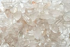 """Fantasia Materials: 18 lbs Natural Crystal Quartz Points from Brazil - Average 1"""" to 1.5"""" - Raw Natural Unpolished Crystals for Wire Wrapping, Grids, Crafts, Reiki, Wicca and Energy Crystal Healing *** Check out the image by visiting the link."""