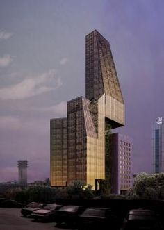 Design Competition for BLC Bank Headquarters by Hapsitus  #architecture #building #tower #modern
