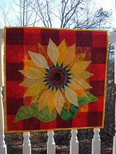 All sizes | Sunflower Quilt 4 | Flickr - Photo Sharing!