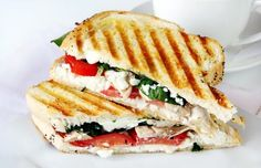 Healthy family dinner, Grilled Veggie Sandwich - CoachingWill.com