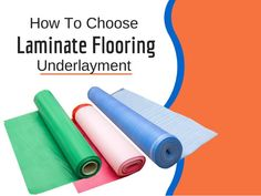 Trying to decide which underlayment to use on your subfloor before installing…
