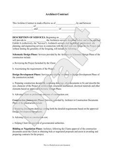 maintenance agreement sample