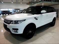 Matte White Range Rover Sport More