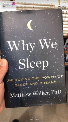 Why we sleep I Love Books, Good Books, Books To Read, My Books, Books To Buy, Book Club Books, Book Nerd, Book Lists, Book Suggestions