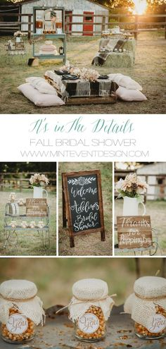fall in love with this bridal shower