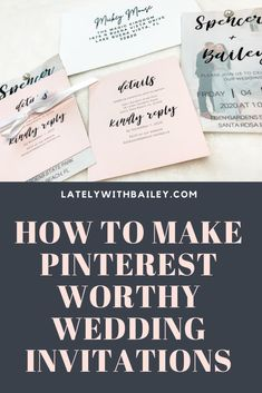 how to make diy pinterest-worthy wedding invitations. only need: silhouette machine, cardstock, pin, vellum paper, ribbon, envelopes Vellum Paper, Paper Ribbon, Wedding Happy, Diy Wedding, How To Make Diy, Silhouette Machine, Wedding Website, Envelopes, Engagement Photos