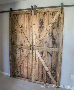 barn door sliding track
