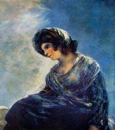 Francisco Goya, La lattaia di Bordeaux, 1827, olio su tela, 74 x 68 cm, Madrid nel Museo del Prado.