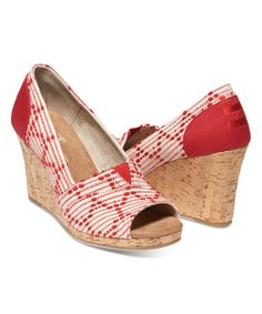 30cbfe94ab0 Look at this Scarlet  amp  Cork Geometric Classic Wedge on  zulily today!  Peep